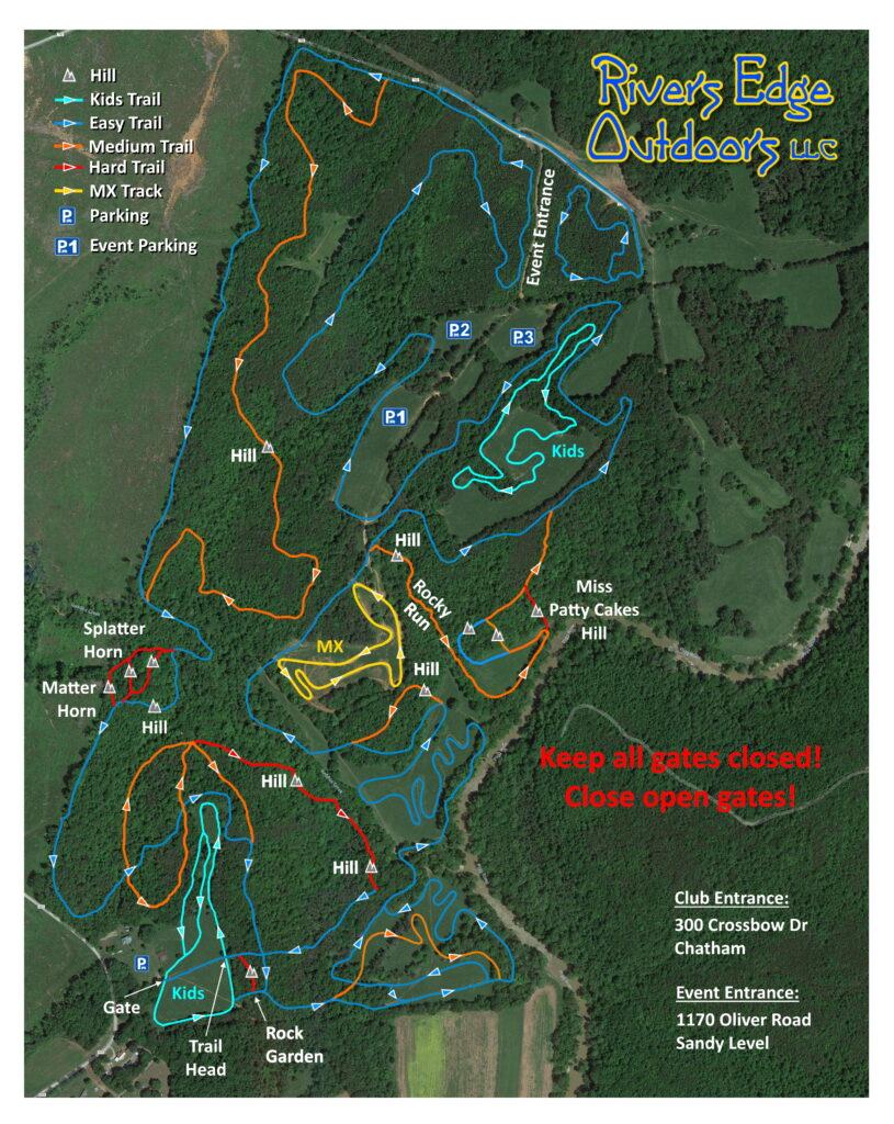 Rivers Edge Map